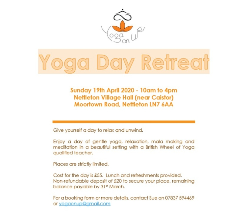 retreat day flyer
