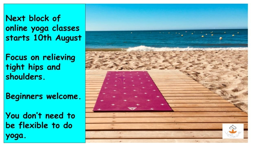 Yoga for August/September